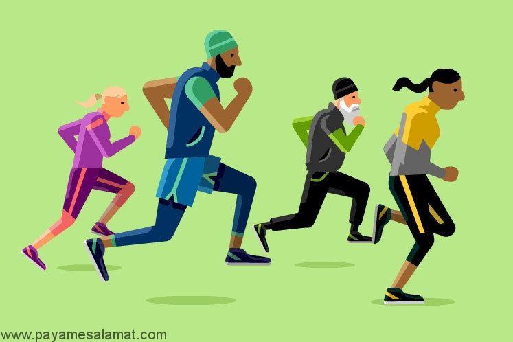 فواید ورزش منظم برای بدن