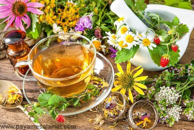 چای گیاهی پاک کننده سیستم لنفاوی