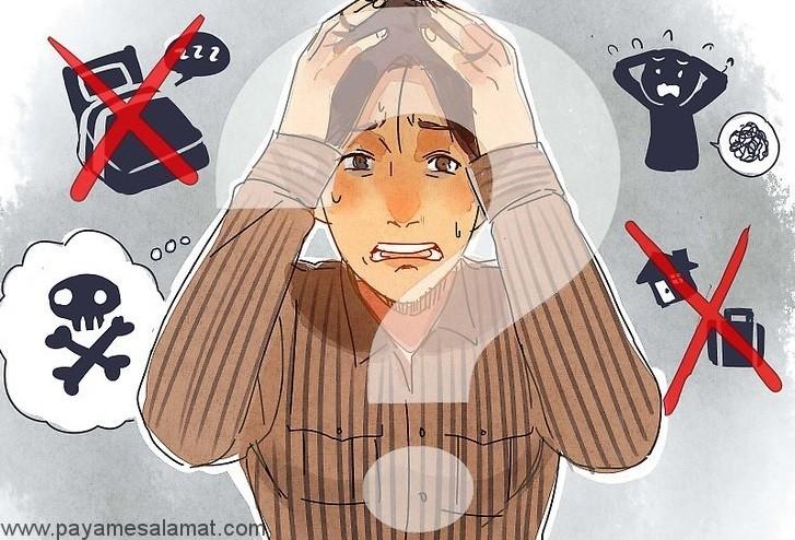 اختلال اضطراب عمومی (GAD)