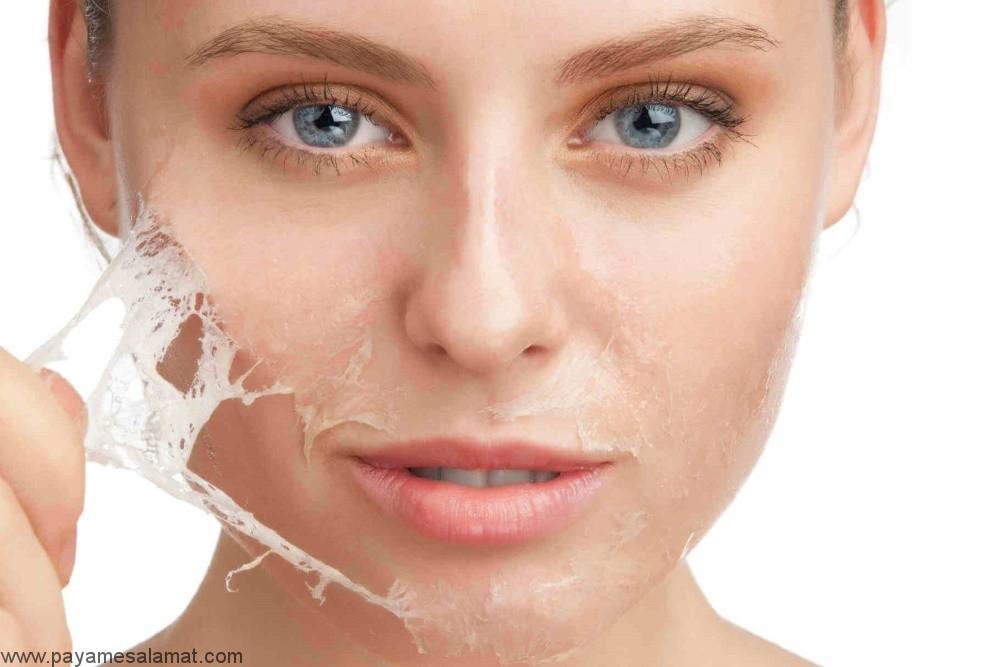 ماسک صورت جدا شونده خانگی برای افزایش درخشش پوست