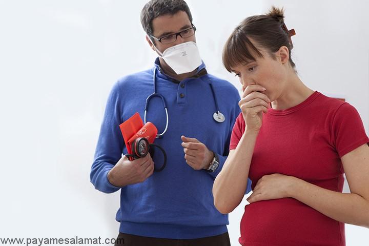 پنومونی در دوران بارداری