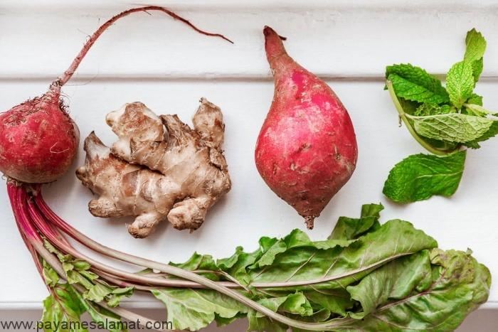 کاهش التهاب در بدن با مواد غذایی