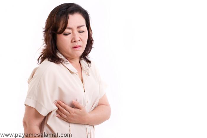 درمان حساسیت به لمس پستان در خانه