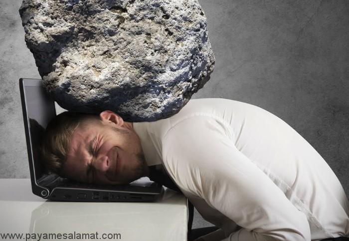 تاثیر استرس بر روی بدن