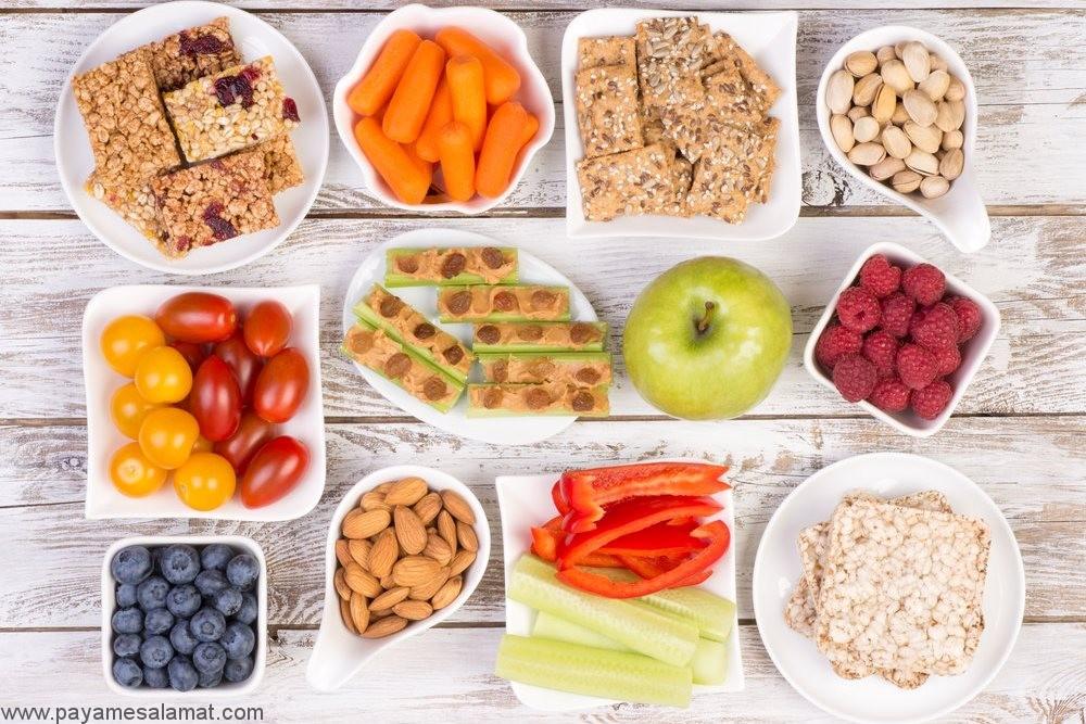 میان وعده های مناسب برای افراد دیابتی