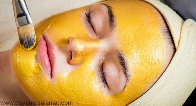 روش تهیه ماسک زردچوبه برای درخشش پوست