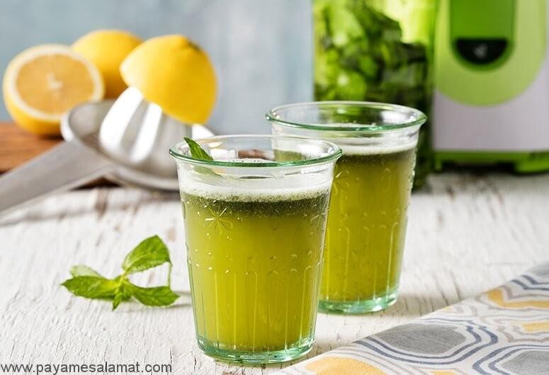 لیموناد چای سبز برای کاهش وزن
