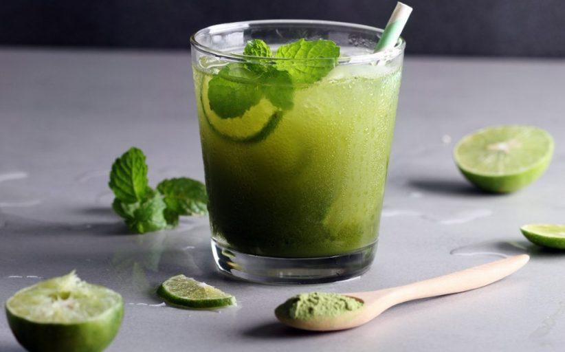 طرز تهیه لیموناد چای سبز برای کاهش وزن