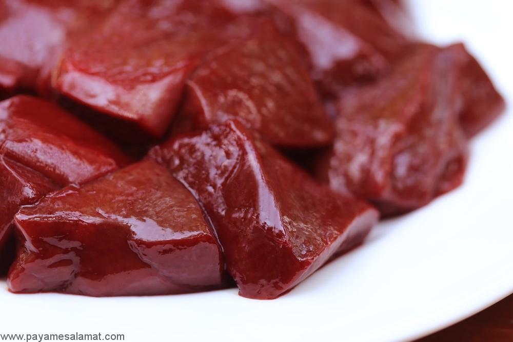 گوشت ارگان های داخلی بدن حیوانات