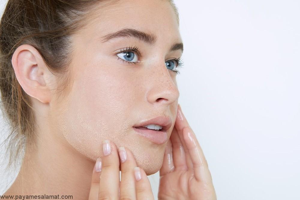 درمان پوسته پوسته شدن صورت به کمک روش های طبیعی