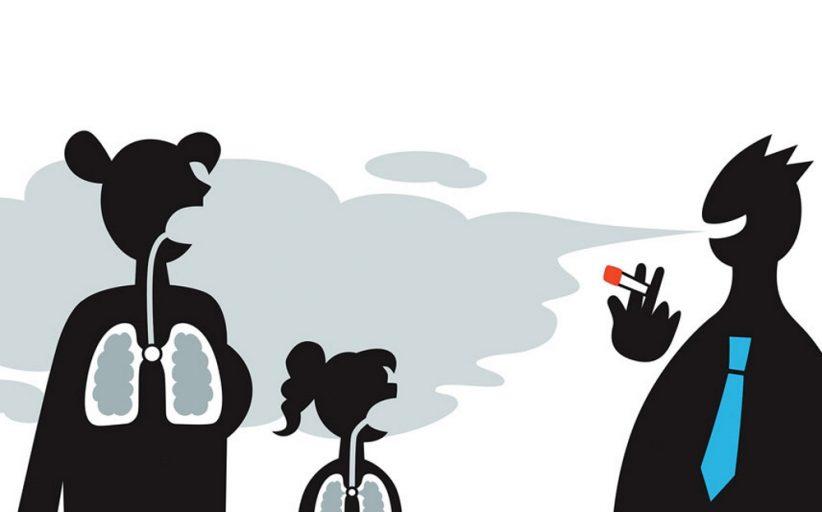 مضرات دود دست دوم سیگار برای بدن