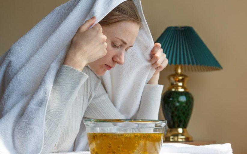فواید بخار درمانی برای بدن و حل مشکلات و بیماری های مختلف