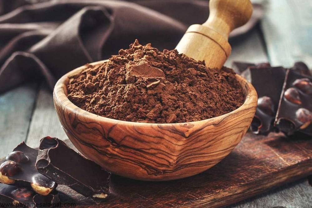 خواص پودر کاکائو و شکلات تلخ