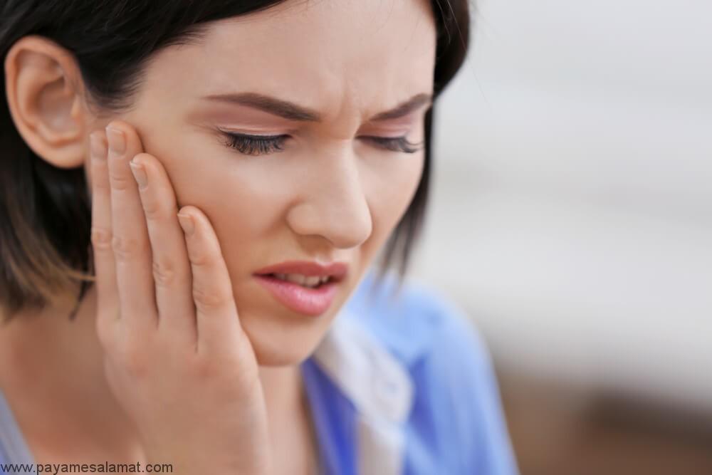 درمان درد فک در خانه