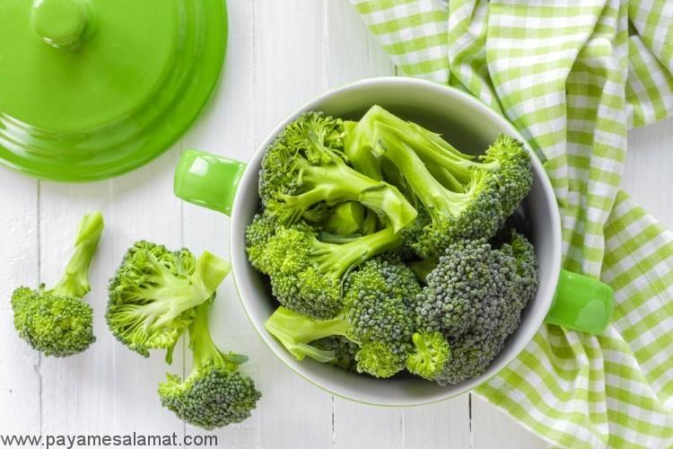 مواد غذایی سرشار از لوتئین و زیگزانتین