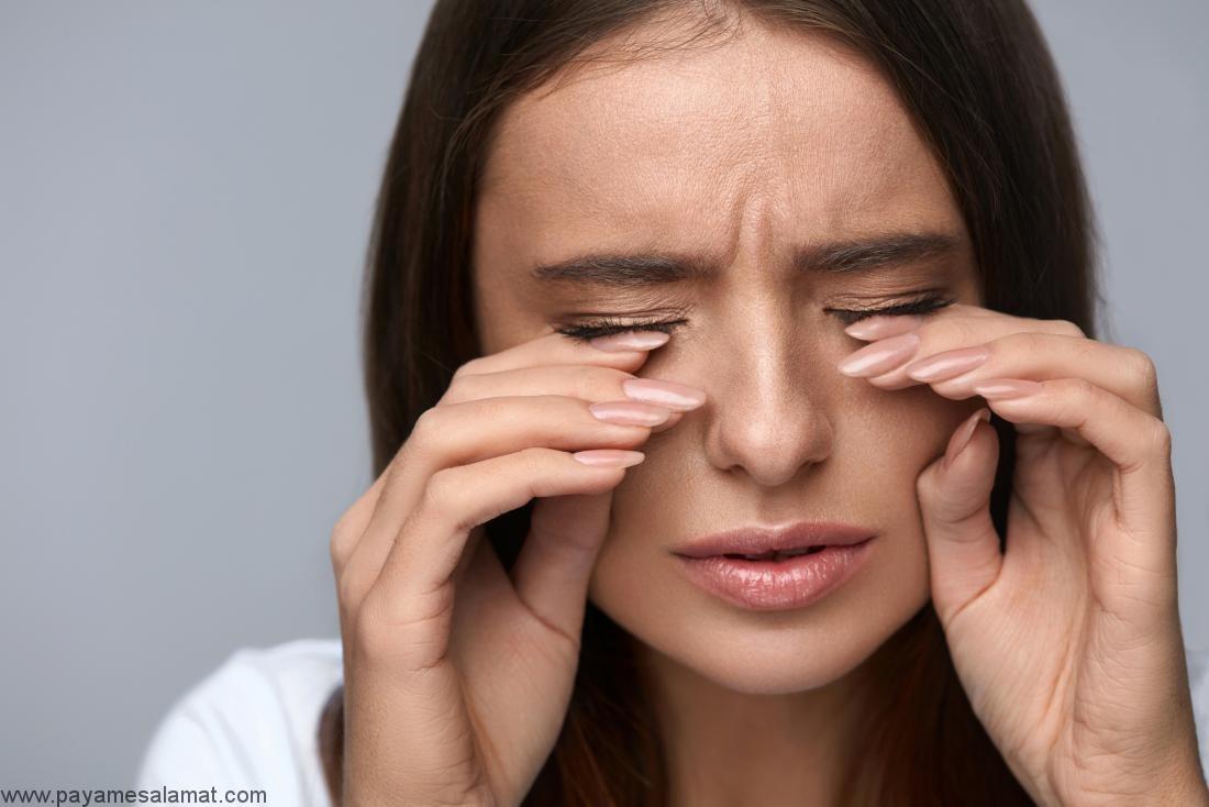 رفع درد چشم