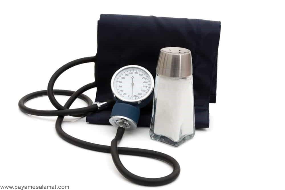رابطه بین نمک و فشار خون بالا