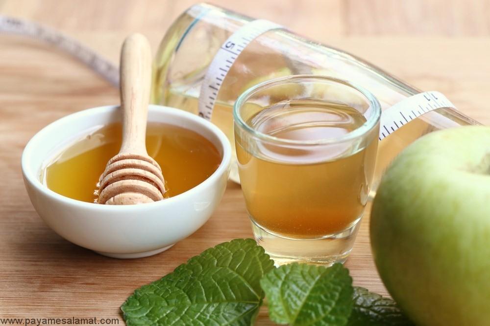 مزایای مصرف سرکه سیب و عسل برای بدن بر اساس تحقیقات علمی