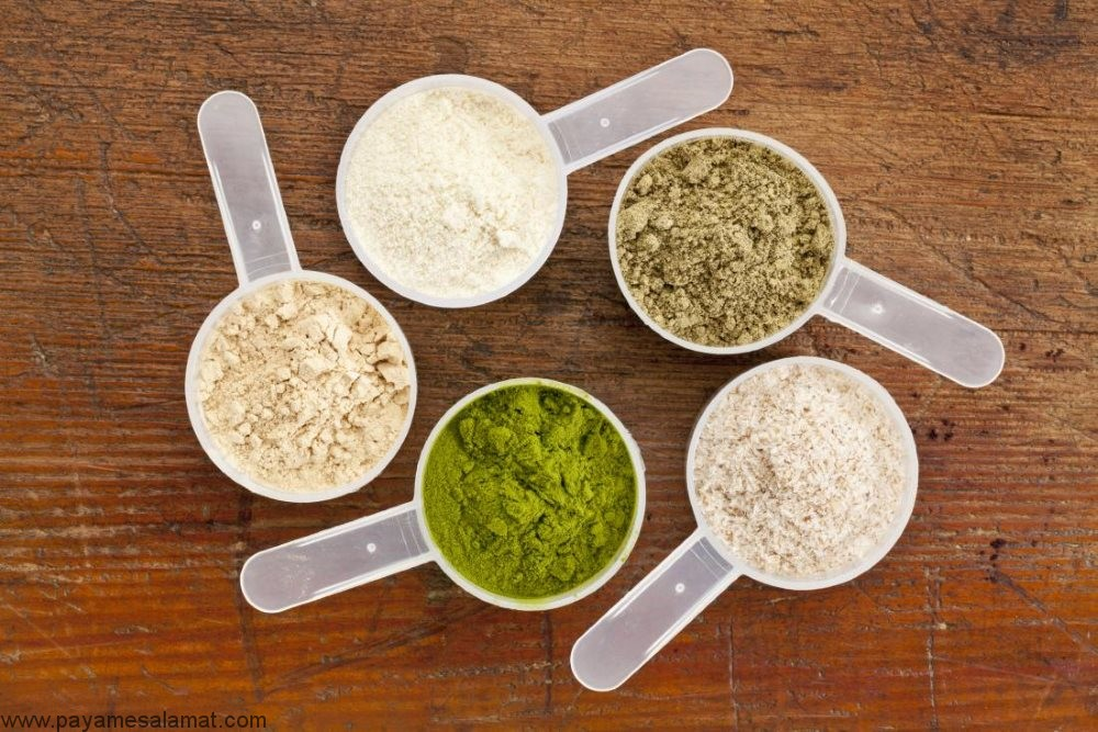 خواص پودرهای پروتئینی برای بدن و انواع و روش استفاده از آن ها