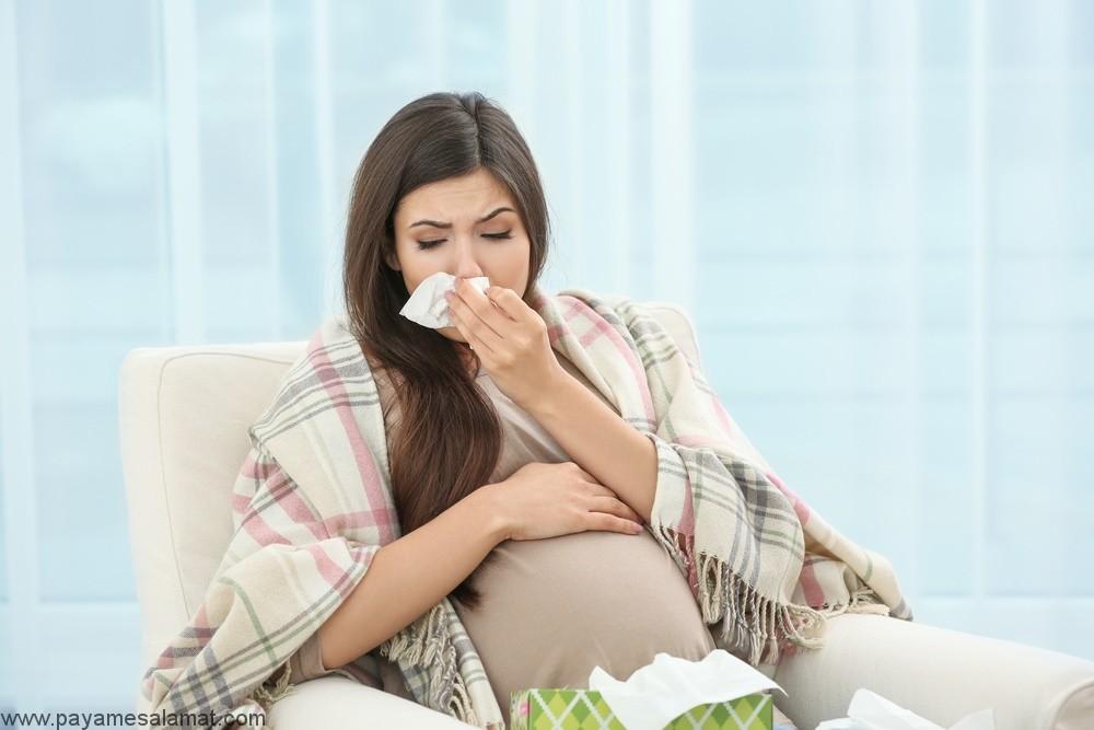 درمان سرماخوردگی و سرفه در بارداری