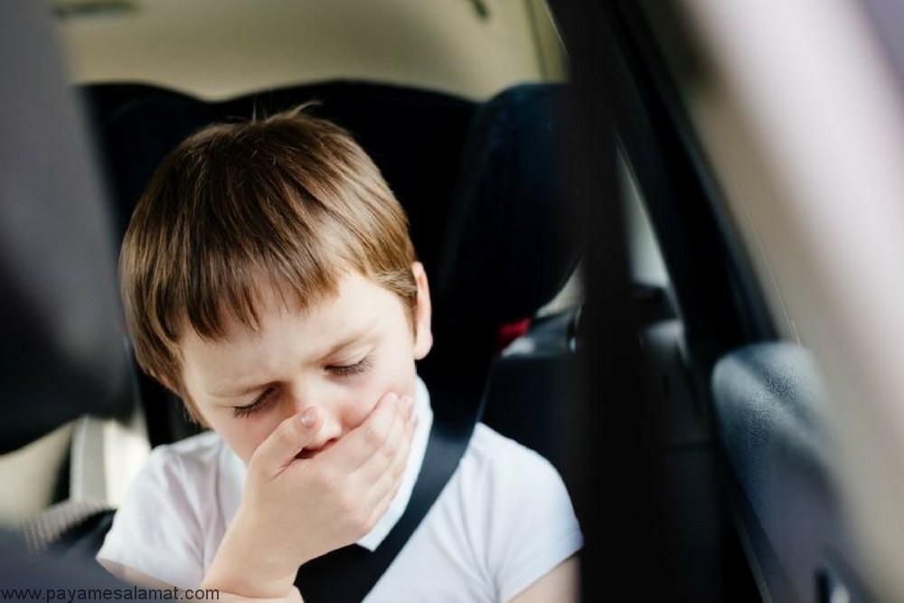 چه چیزی موجب استفراغ و تهوع در کودکان می شود؟