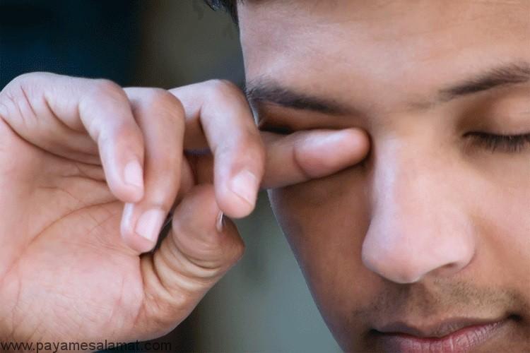 درمان آبریزش چشم