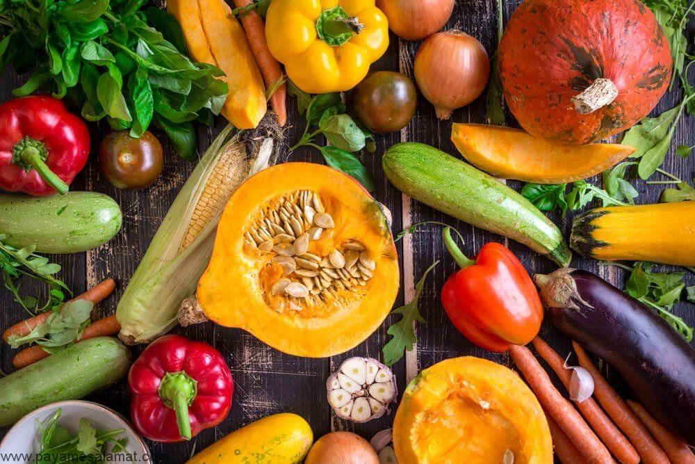 مواد غذایی سرشار از ویتامین A و خواص این مواد برای بدن