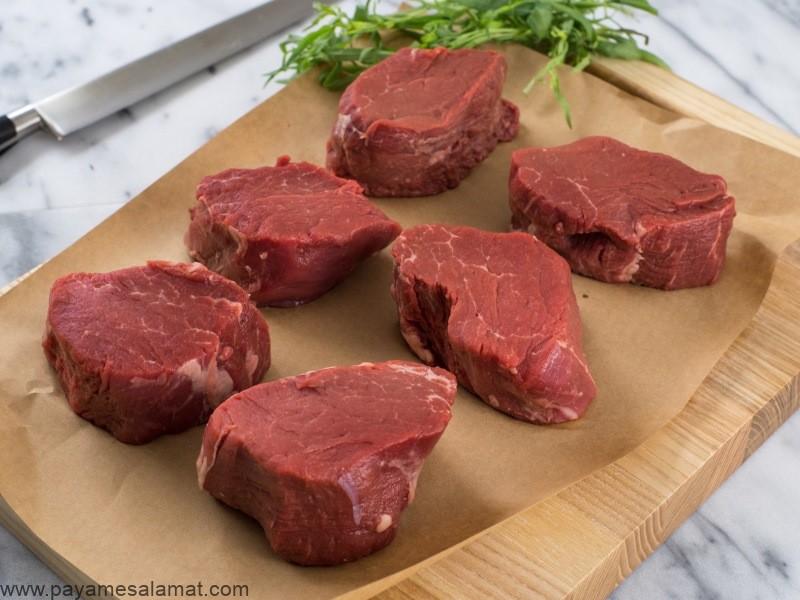 خواص و ارزش غذایی گوشت گاو علف خوار