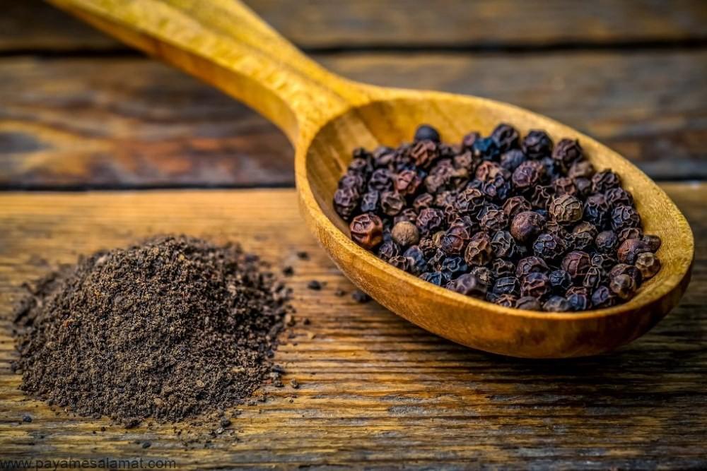 ارزش غذایی و خواص فلفل سیاه