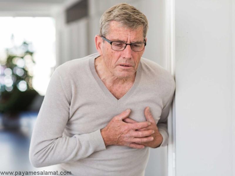 علائم بیماری های قلبی در مردان
