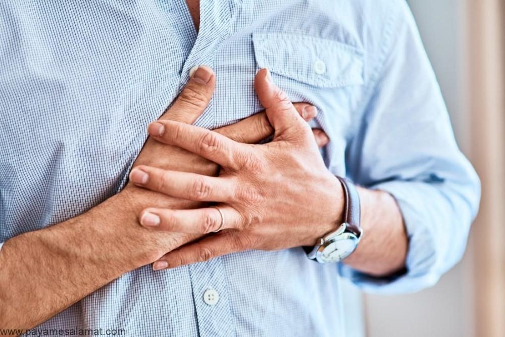 درد قفسه سینه ناشی از اضطراب