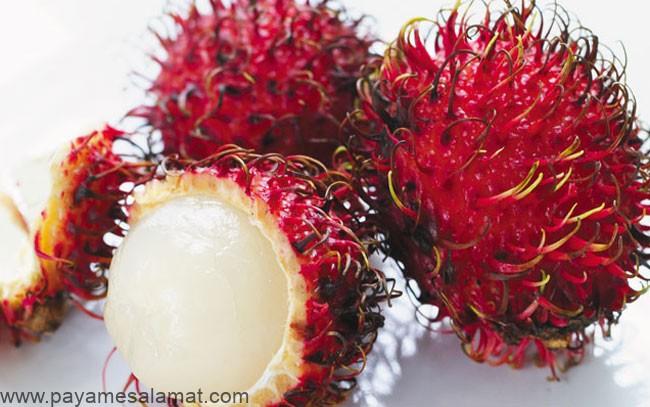 خواص میوه مژکی یا رامبوتان