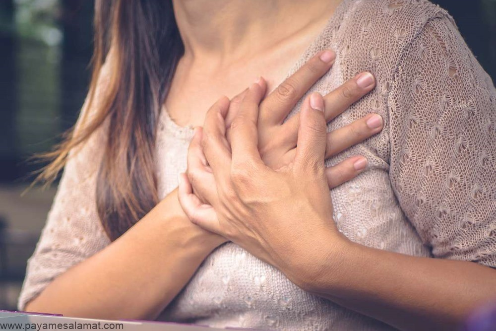 درد بالای سینه (سمت راست و چپ) به همراه علل و علائم این درد