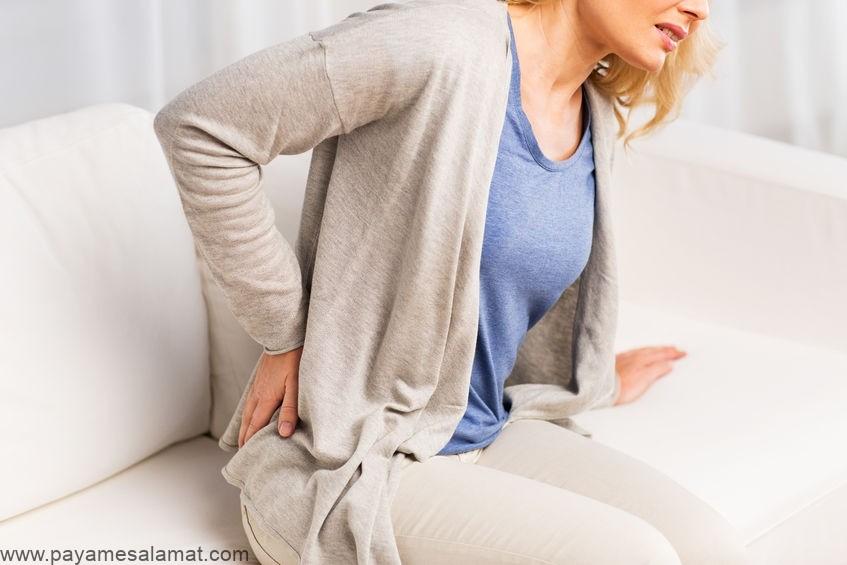 اسهال و درد پایین کمر