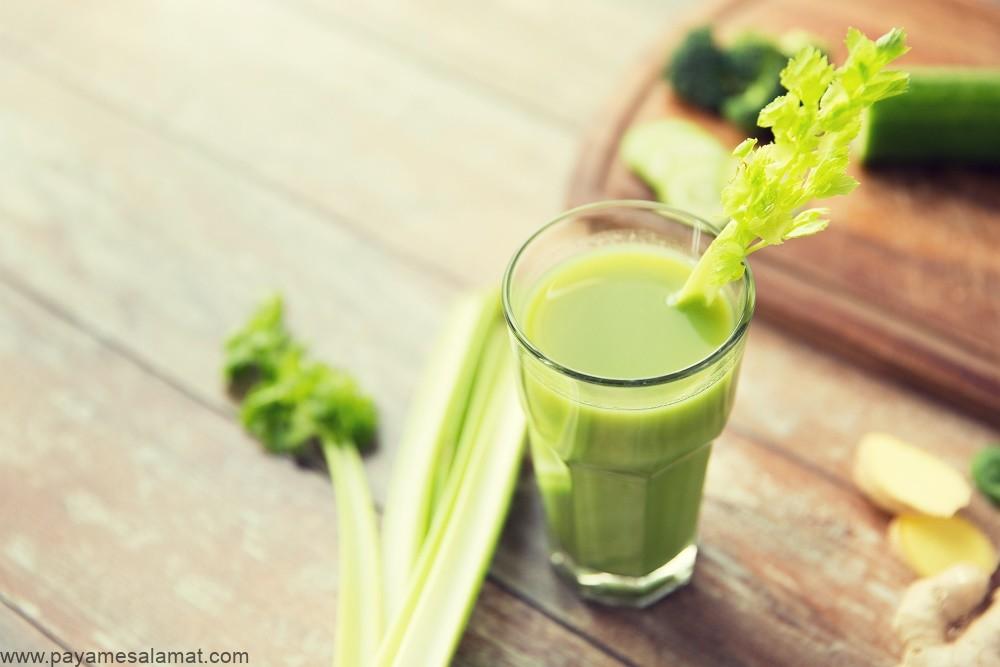 خواص نوشیدن آب کرفس برای بدن و ارزش غذایی این نوشیدنی