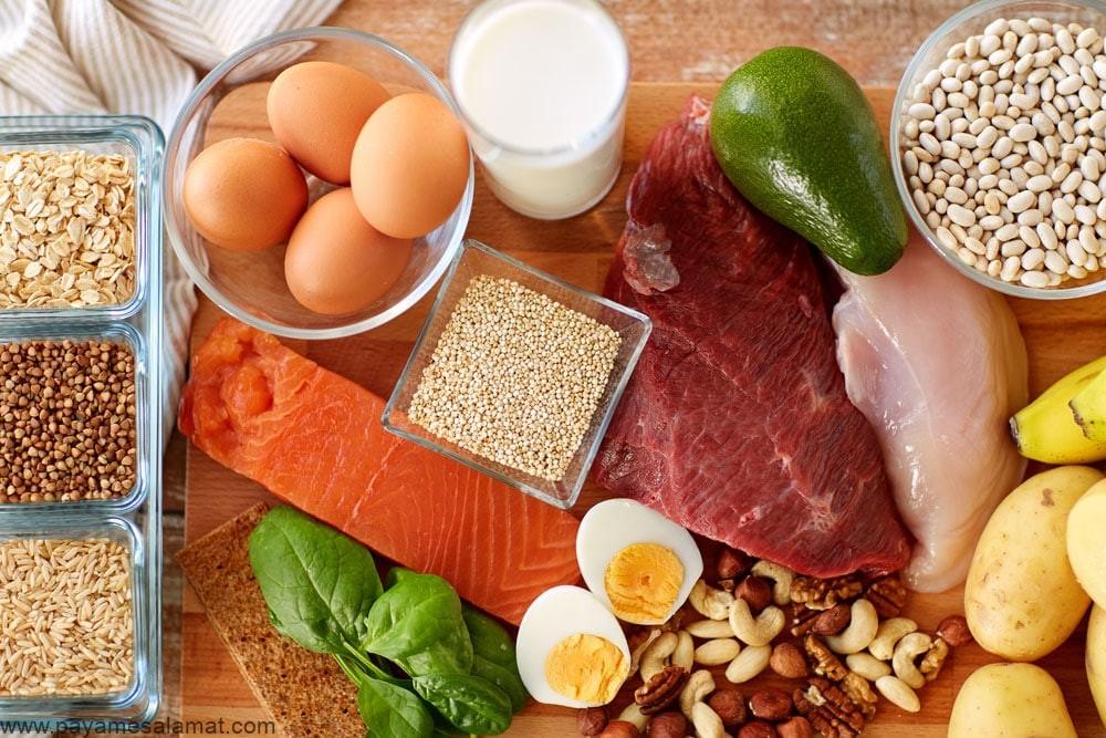 مواد غذایی تثبیت کننده انسولین و قند خون