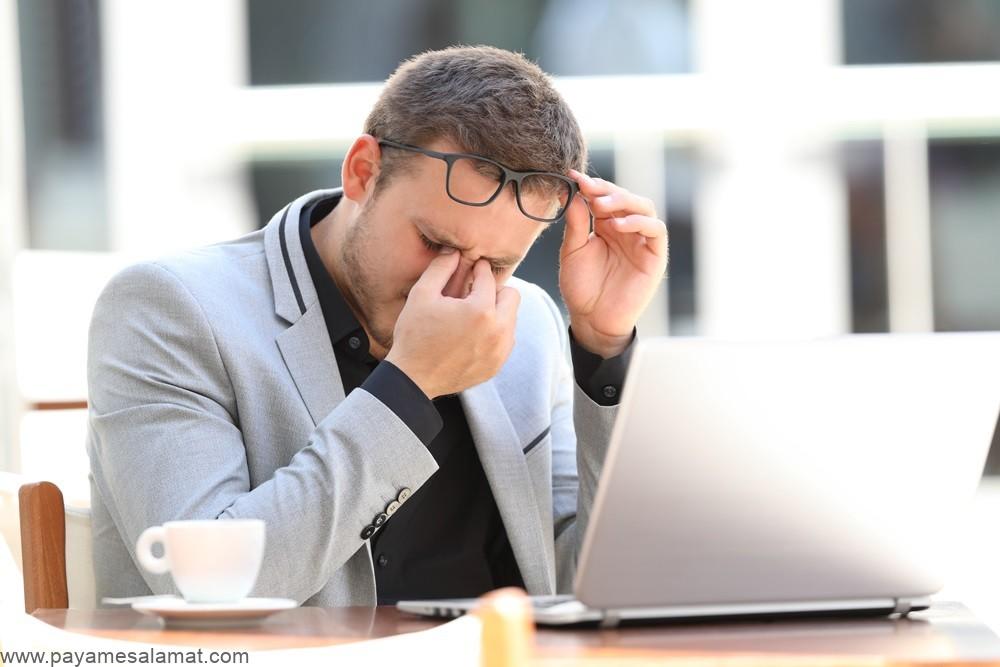خستگی چشم ؛ علل، نشانه ها و روش های درمان