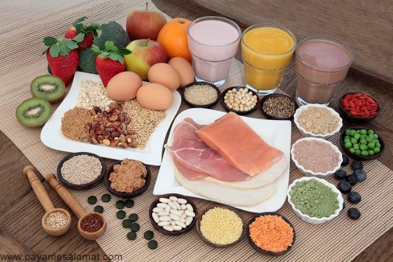 مزایای مصرف پروتئین زیاد برای بدن
