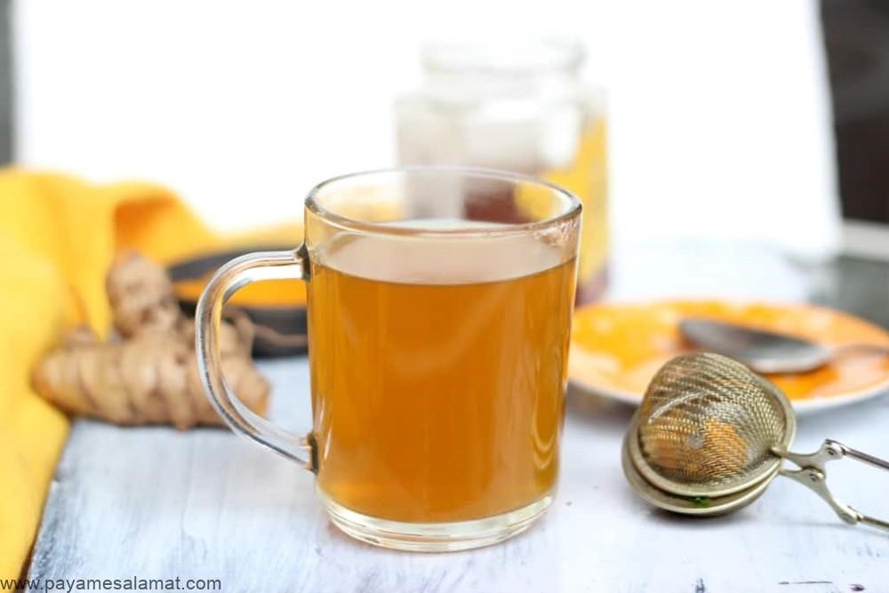 خواص چای زردچوبه برای تقویت سیستم ایمنی، کاهش قند خون و کنترل کلسترول