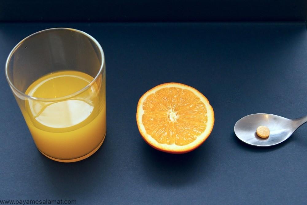 عوارض جانبی ویتامین C و نحوه جلوگیری از واکنش های جانبی بدن به این ویتامین