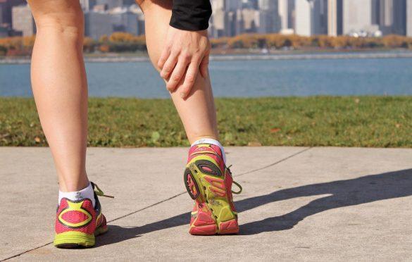 درد پایین عضله ساق پا