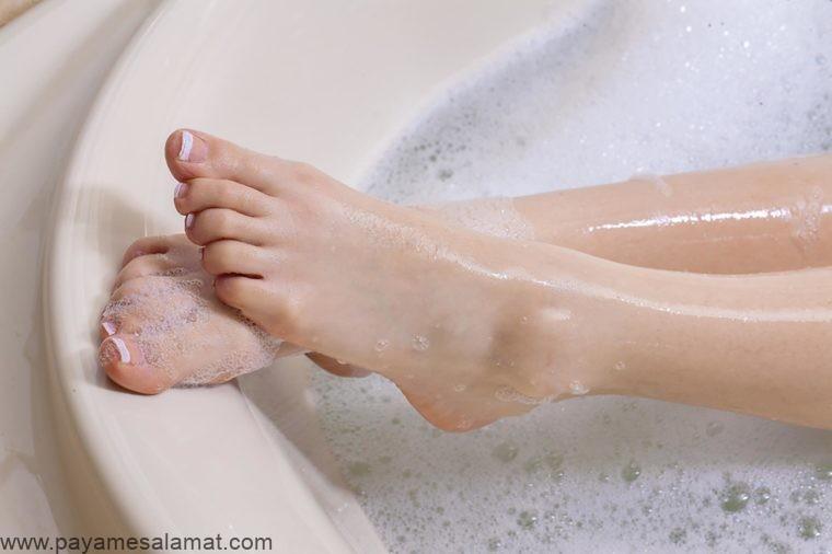 حمام کردن با نمک اپسوم