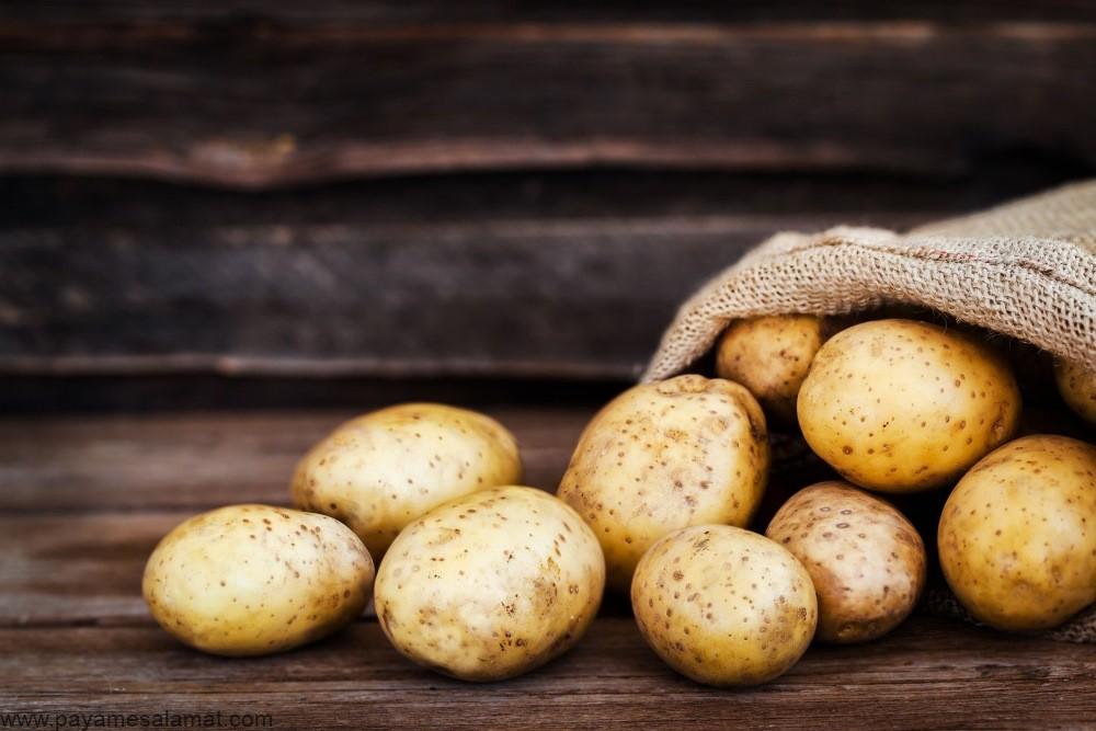خواص سیب زمینی و بررسی کامل ویتامین ها، مواد معدنی و سایر مواد مغذی موجود در آن