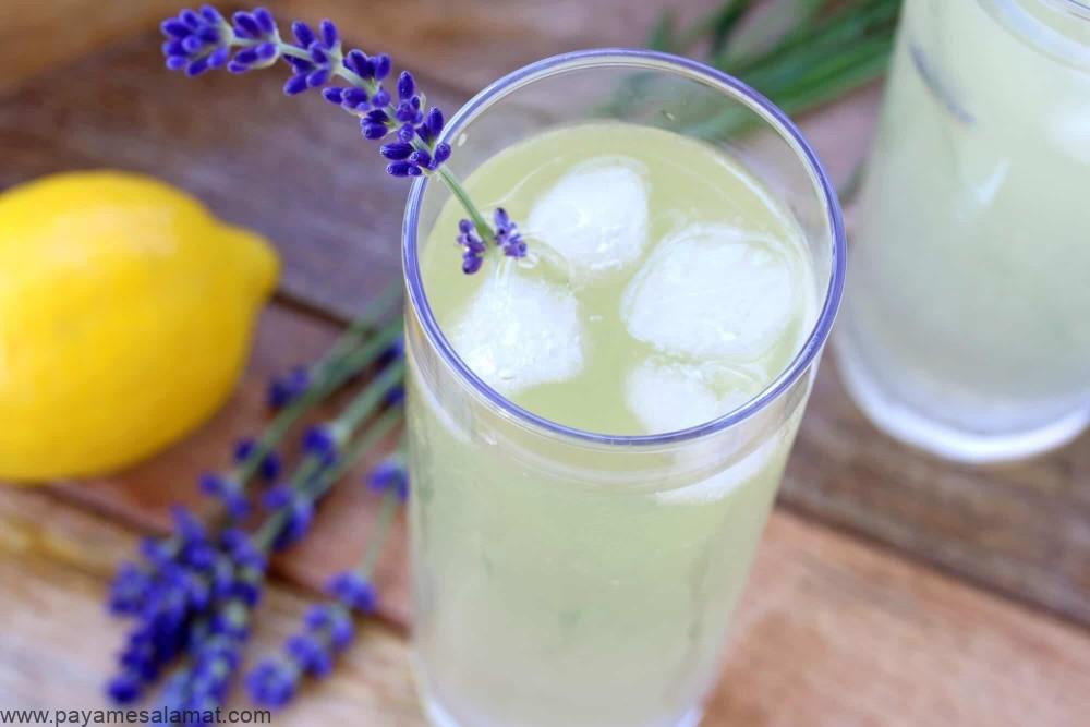 روش تهیه و خواص لیموناد اسطوخودوس برای رهایی از سردرد و اضطراب