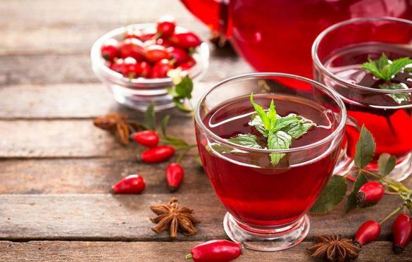خواص چای میوه گل رز برای بدن