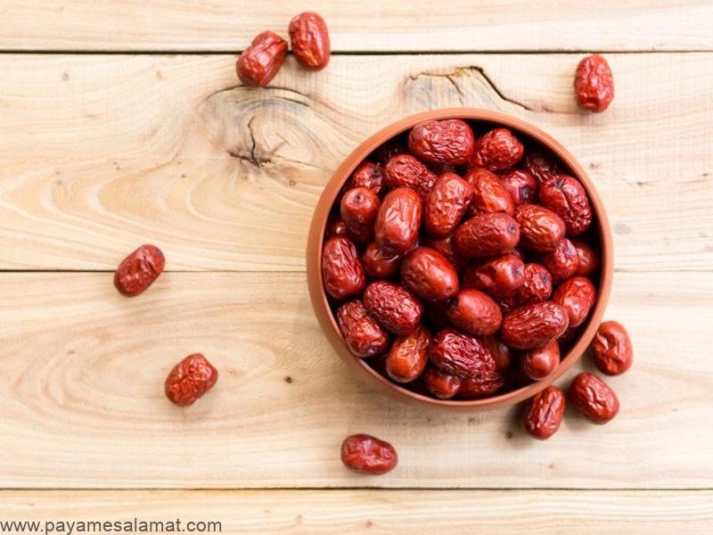 خواص عناب و ارزش غذایی این میوه