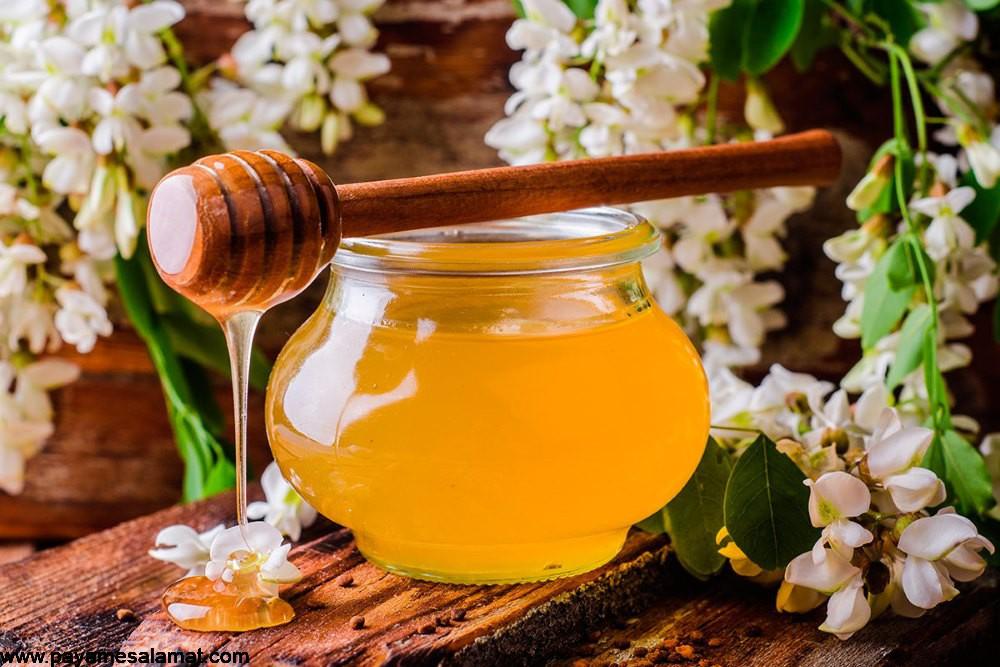 مهمترین خواص علمی عسل اقاقیا برای بدن
