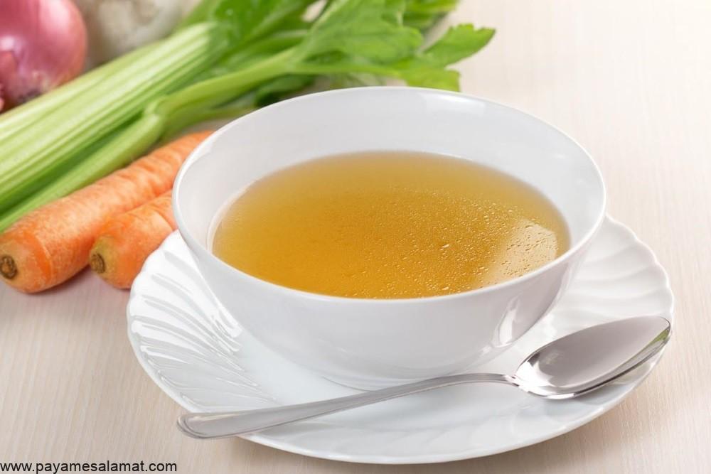 آشنایی با رژیم غذایی مایعات شفاف