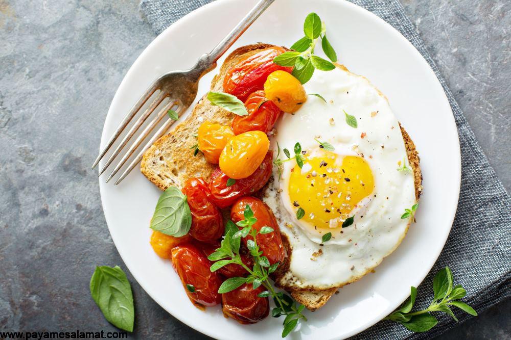 تاثیر کلسترول موجود در رژیم غذایی بر روی کلسترول خون