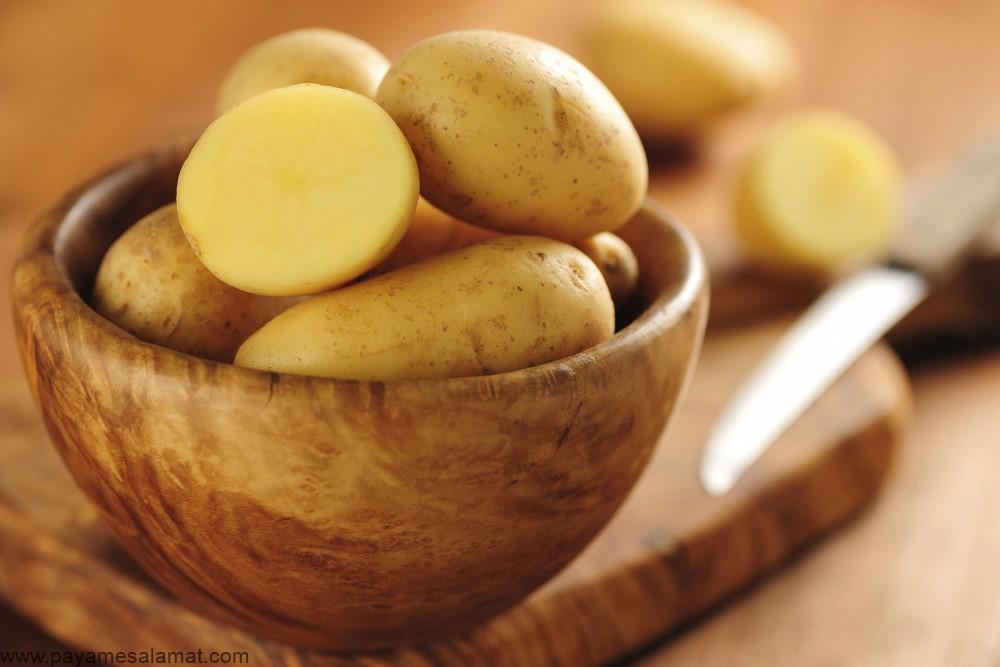 بررسی رژیم غذایی سیب زمینی و ارائه یک برنامه غذایی بر اساس مبانی این رژیم